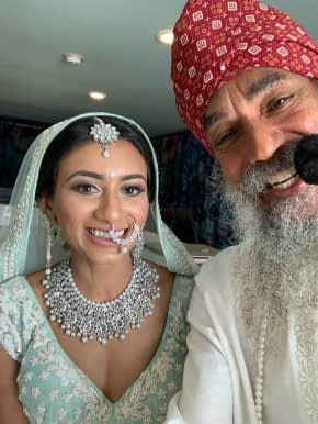Indian Wedding in Cancun Mexico