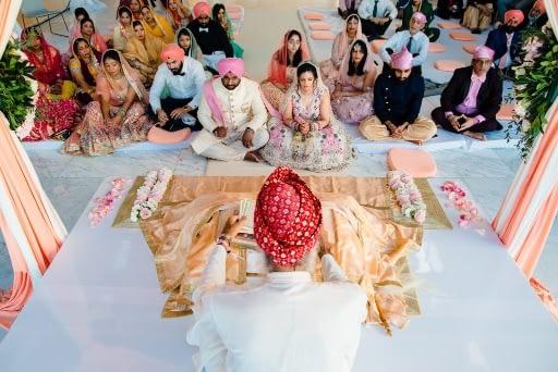 Sikh Wedding in Cancun