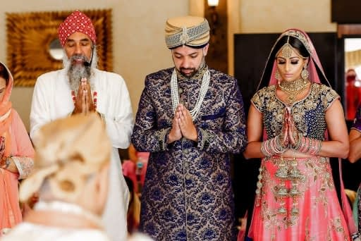 Sikh Wedding Cancun