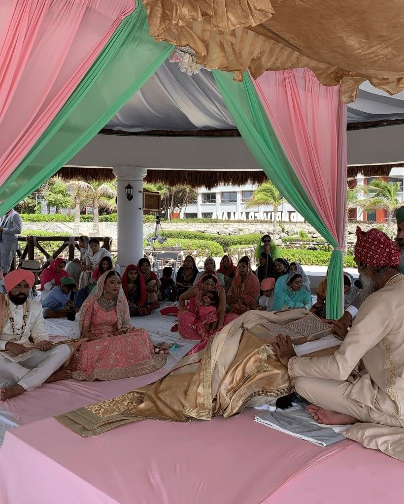 Indian wedding in Cancun